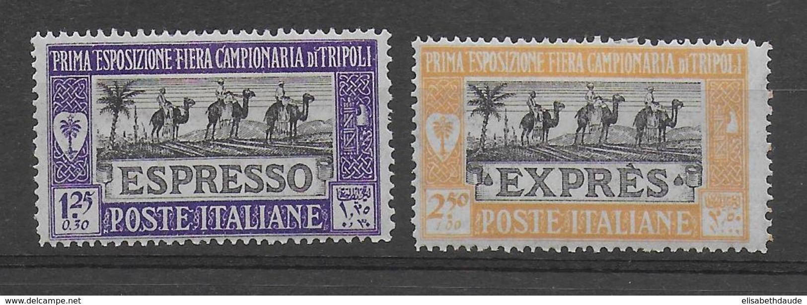 COLONIE ITALIENNE - TRIPOLI - EXPRES N° 1/2 * MLH - COTE = 23 EUR. - Tripolitania
