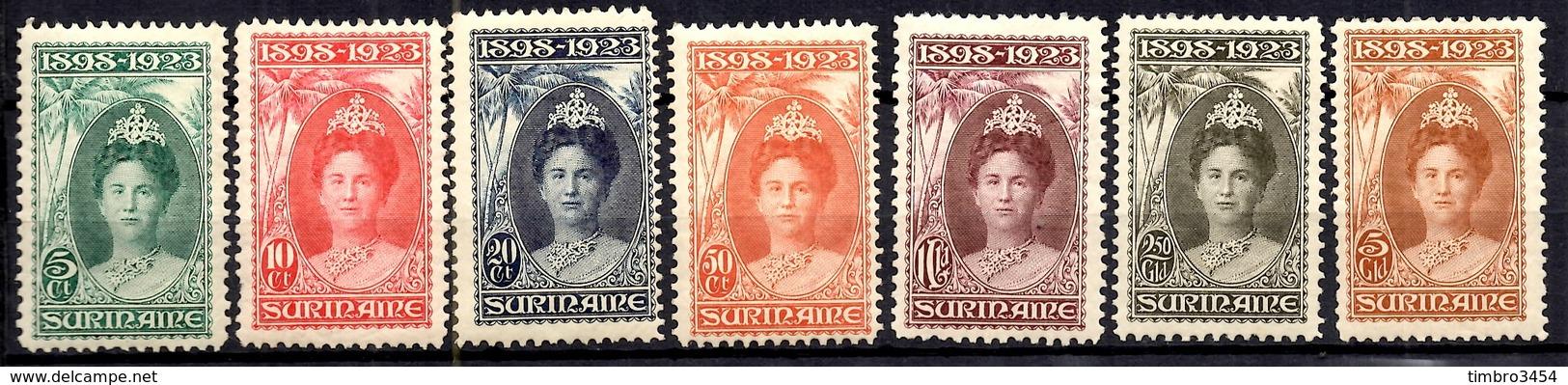 Surinam YT N° 100/106 Neufs *. B/TB. A Saisir! - Surinam ... - 1975