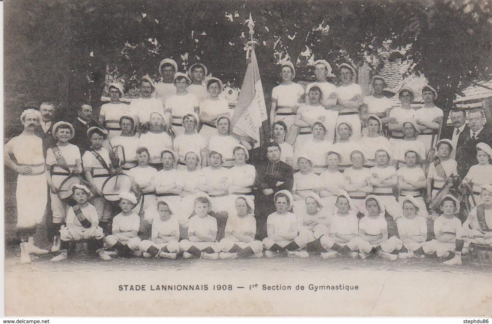 PM890 * Lannion : Stade Lannionnais- 1ère Section De Gymnastique - 1908 - Lannion