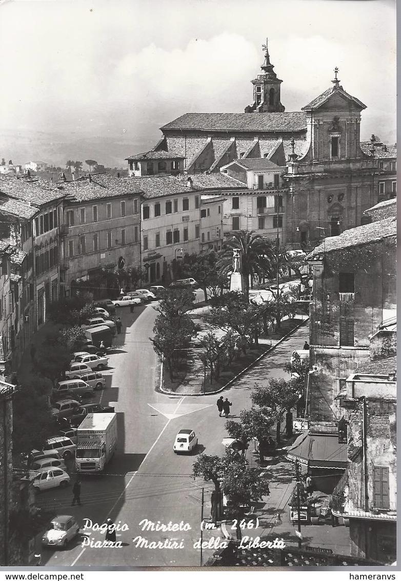 Poggio Mirteto - Piazza Martiri Della Libertà - Rieti - H2369 - Rieti