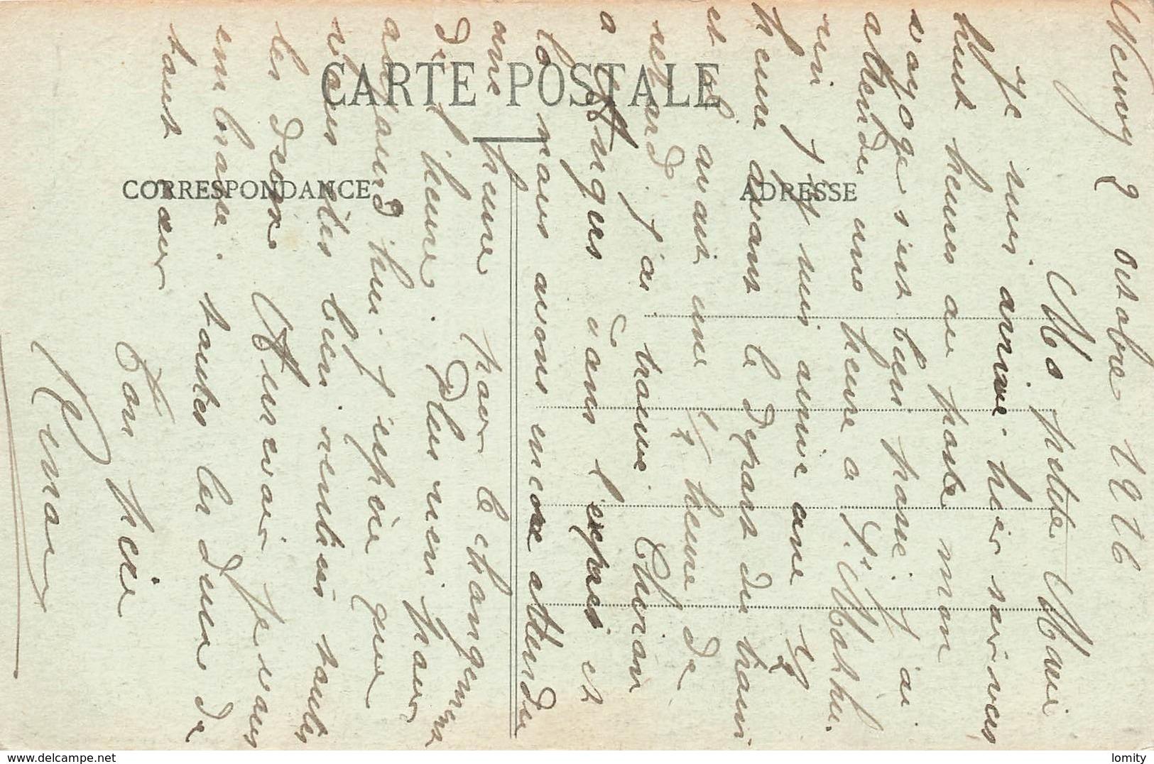 51 Courgivaux Ruines De La Ferme De Bel Air 6 Et 7 Septembre 1914 Bataille De La Marne - Autres Communes
