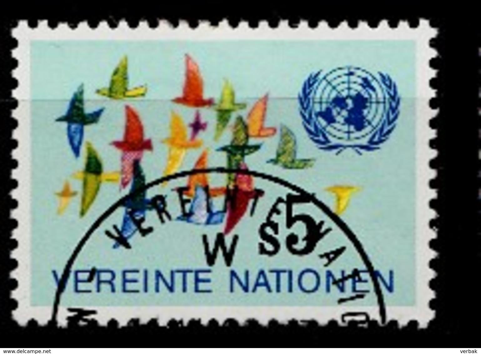 Nations Unies Wenen 1979 Mi.Nr: 4 Vogelzug  Oblitèré / Used / Gebruikt - Centre International De Vienne