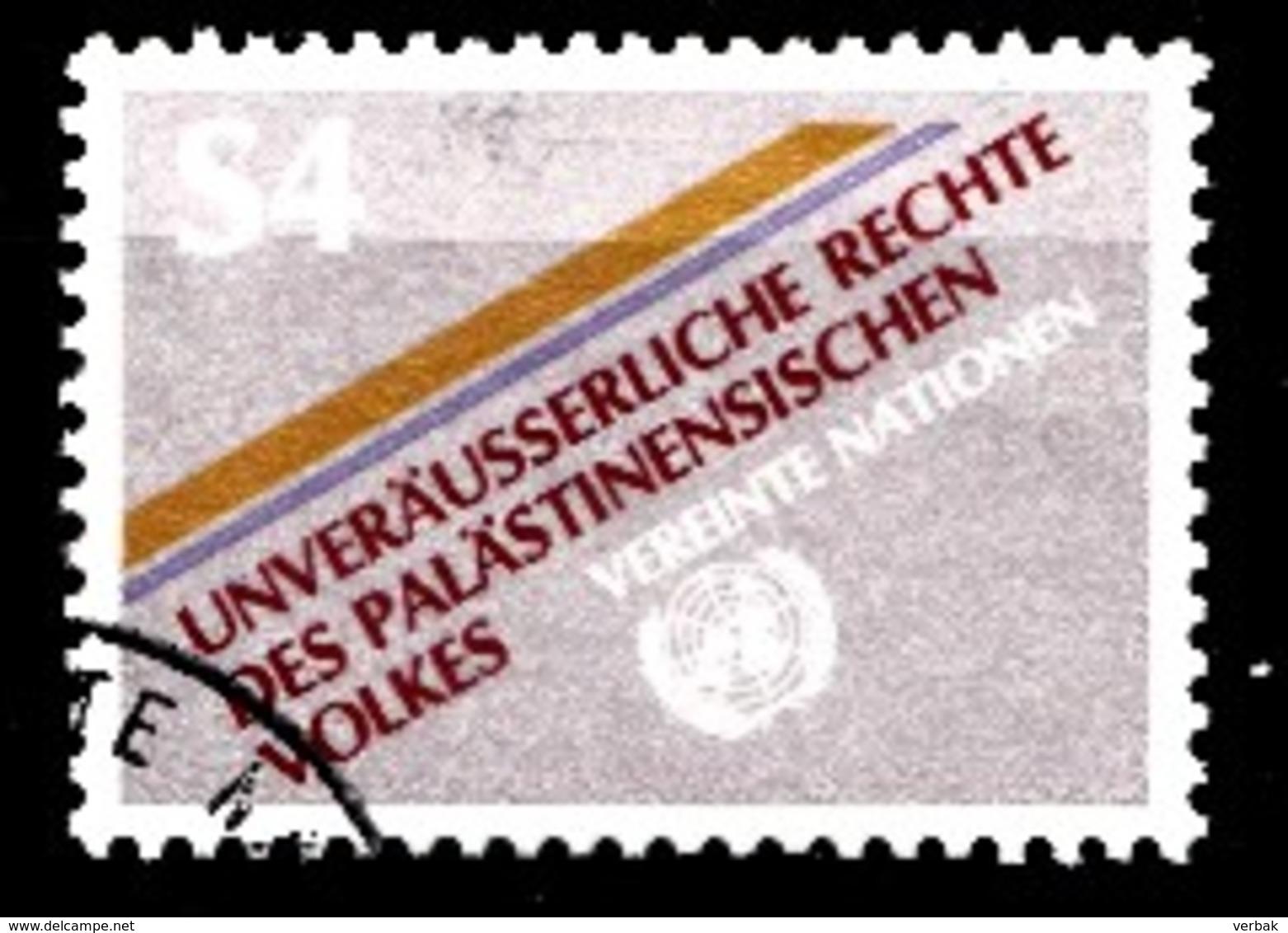 Nations Unies Wenen 1981 Mi.Nr: 16 Unveräusserliche Rechte Des...  Oblitèré / Used / Gebruikt - Oblitérés
