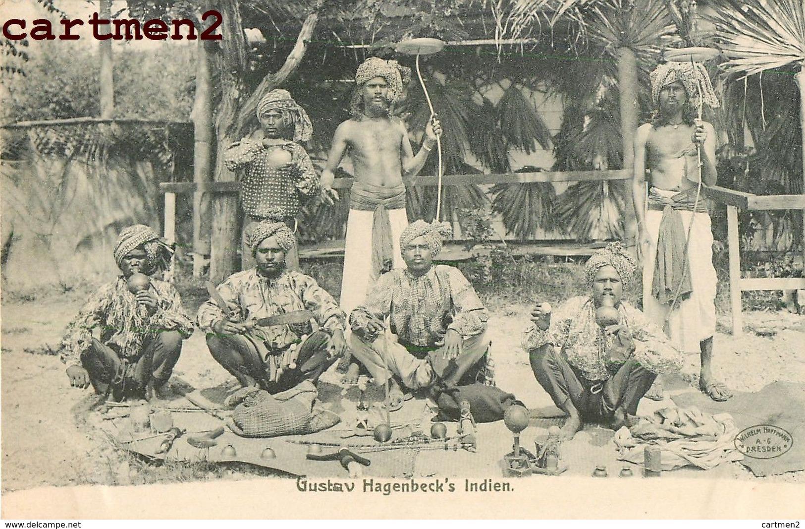 INDE INDIA GUSTAV HAGENBECK'S INDIEN EXPOSITION COLONIALE ? ETHNIC ETHNOLOGIE FAKIR SPECTACLE CIRQUE CARAVANE - Indien