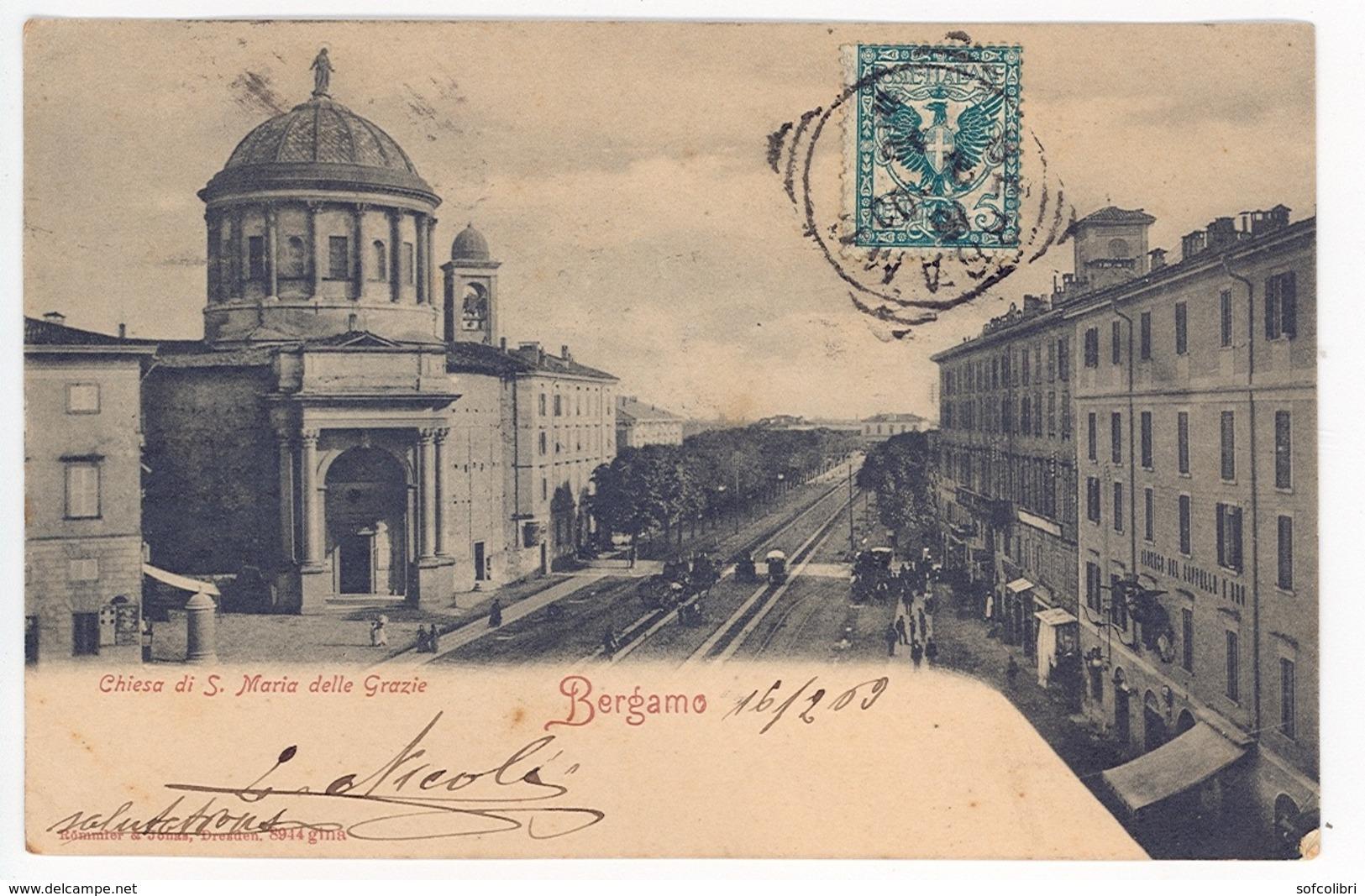 BERGAMO -- CHIESA DI S. MARIA DELLE GRAZIE - Bergamo
