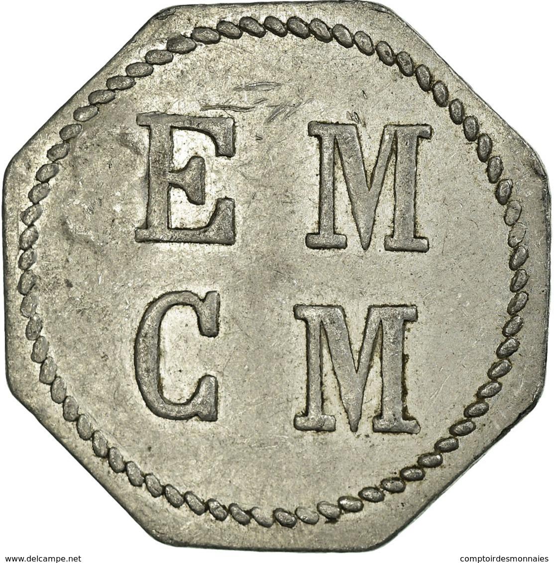 Monnaie, France, E. M. C. M, Saint-Hippolyte-du-Fort, 1 Franc, TTB, Aluminium - Monétaires / De Nécessité