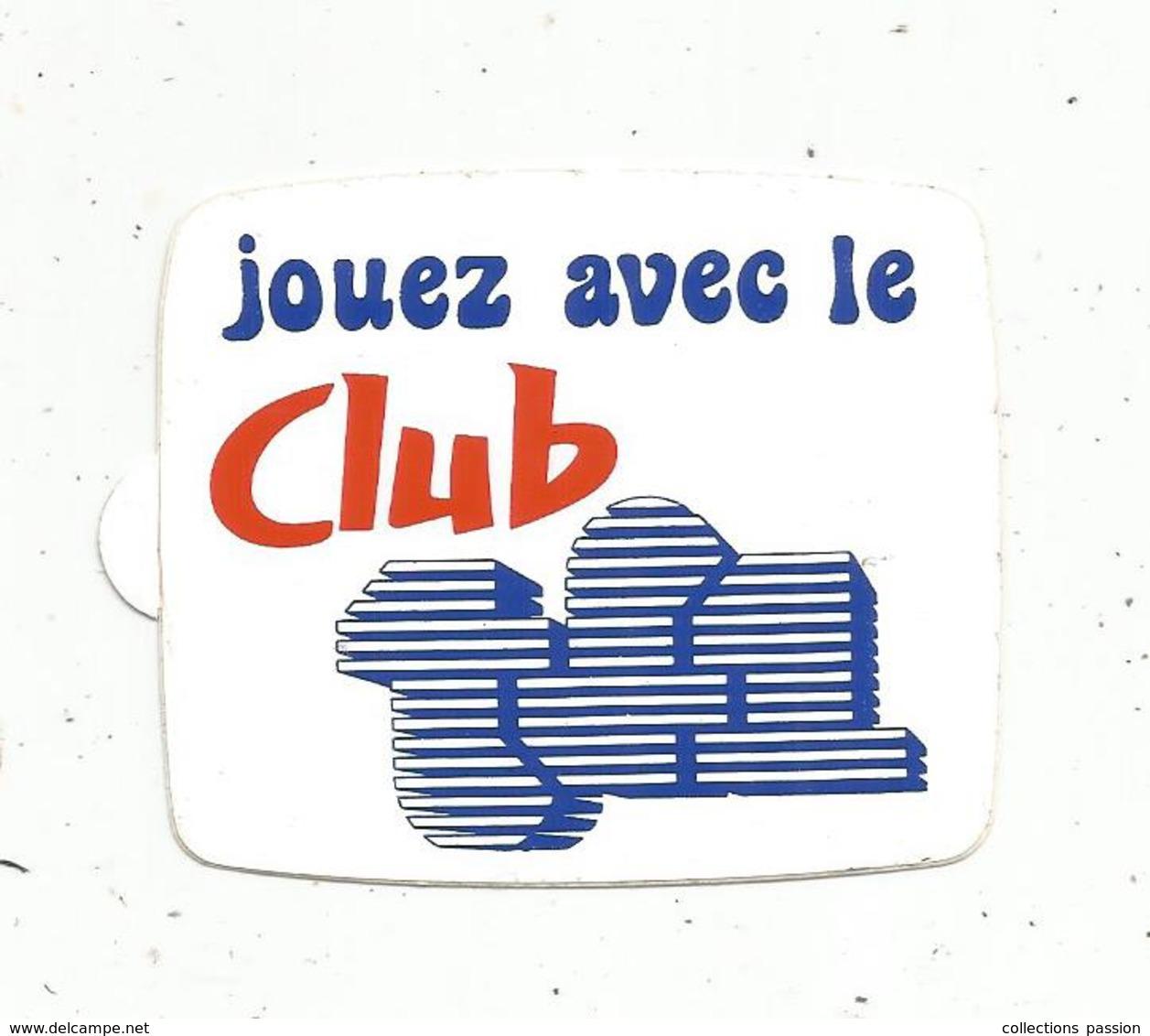 Autocollant , Télévision, Jouez Avec Le CLUB TF1 - Aufkleber