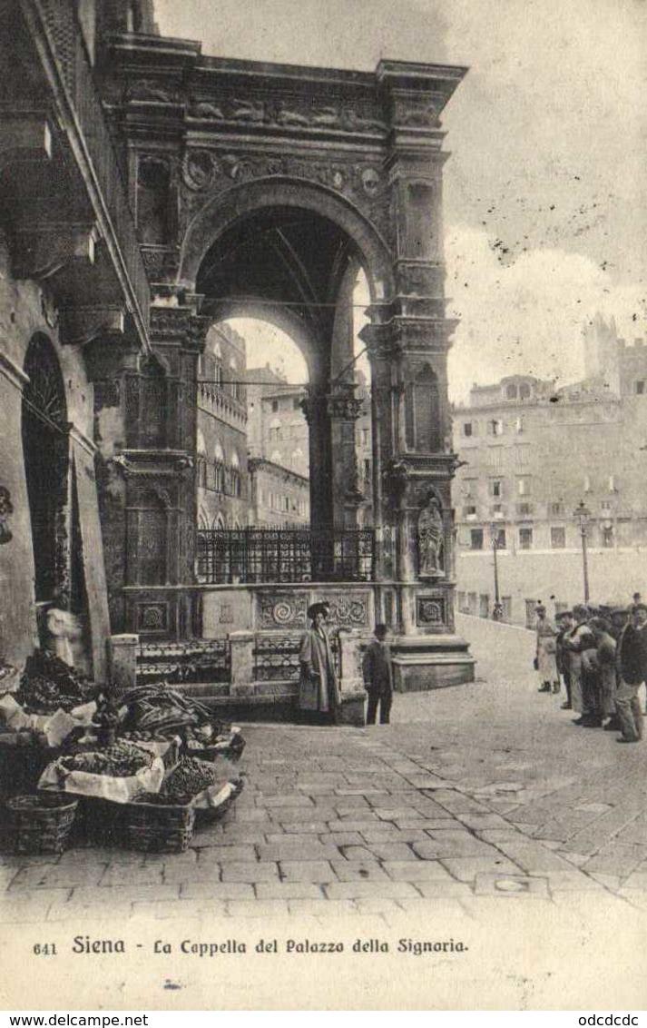 Siena La Capella Del Palazzo Della Signoria RV Timbre Beau Cachet Cachet 43 - Siena