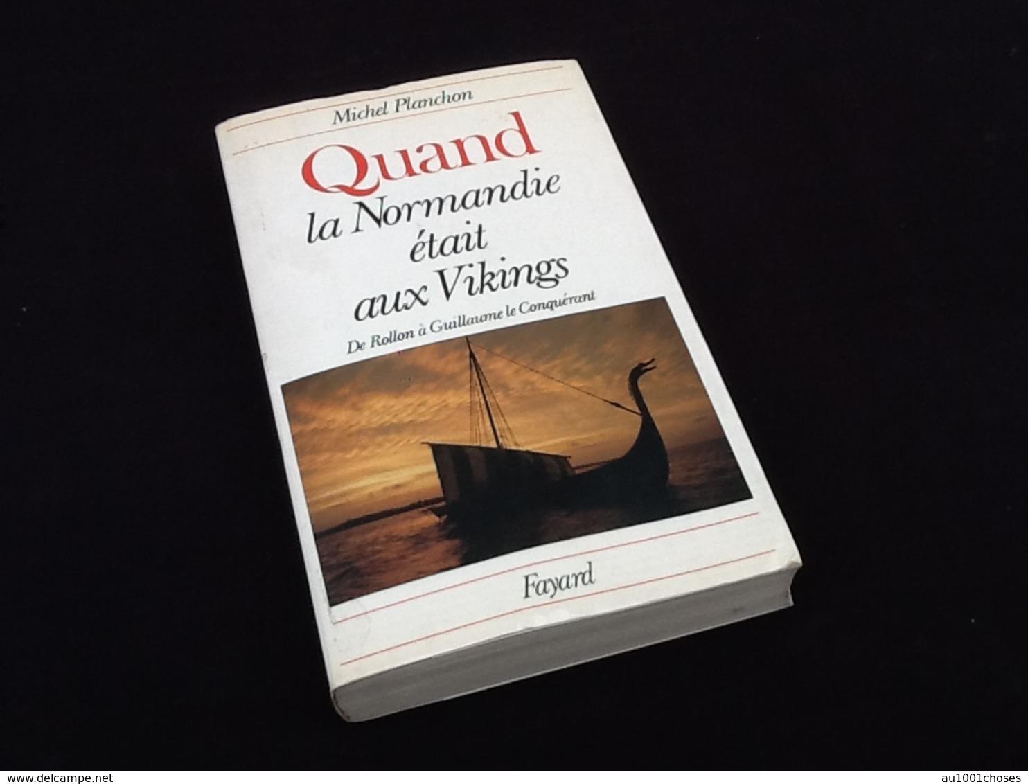 Michel Planchon  Quand La Normandie était Aux Vikings (1978) - Historia