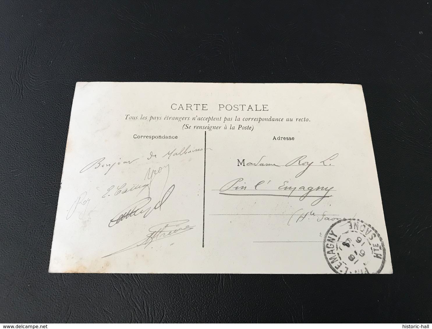 254 - MALBUISSON - 1906 Timbrée - France