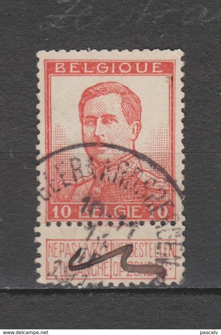 COB 118 Oblitération Centrale GEERAARDSBERGEN - GRAMMONT - 1912 Pellens