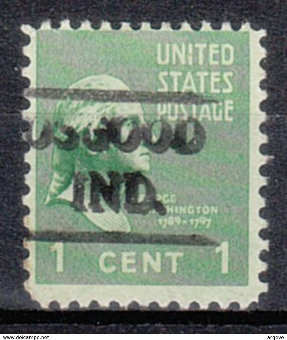 USA Precancel Vorausentwertung Preo, Locals Indiana, Osgood 479 - Vereinigte Staaten
