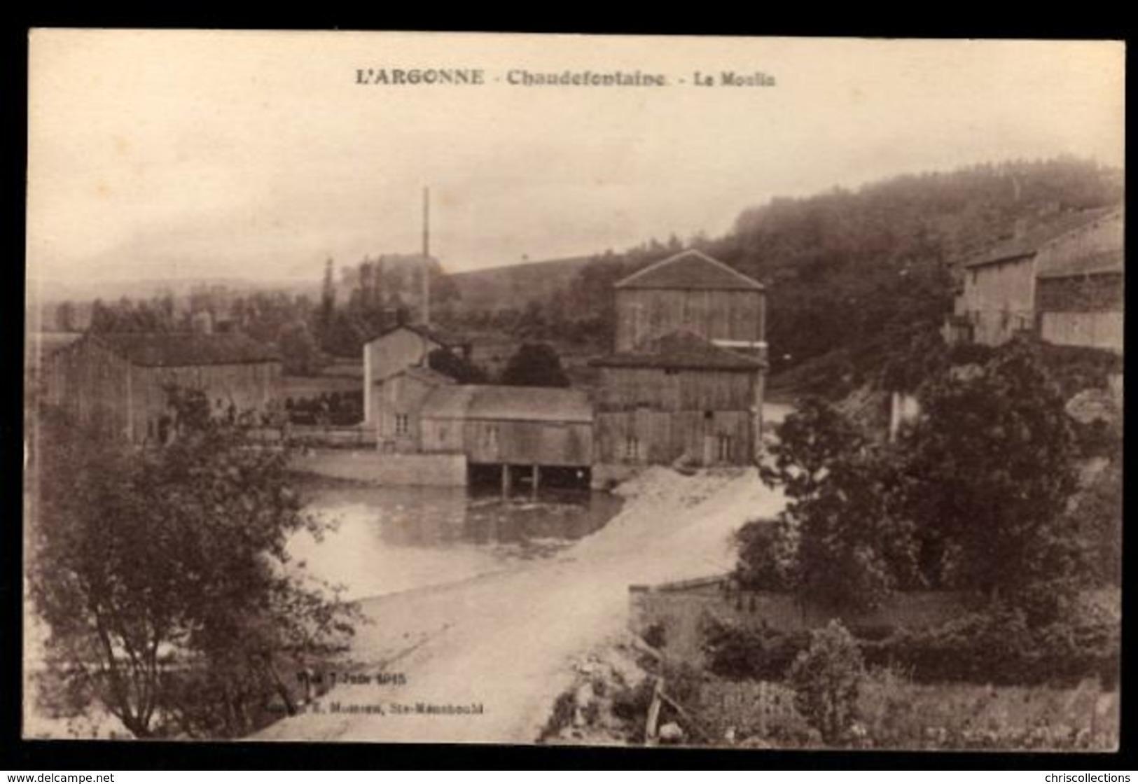 51 - CHAUDEFONTAINE (Marne) - Le Moulin - France