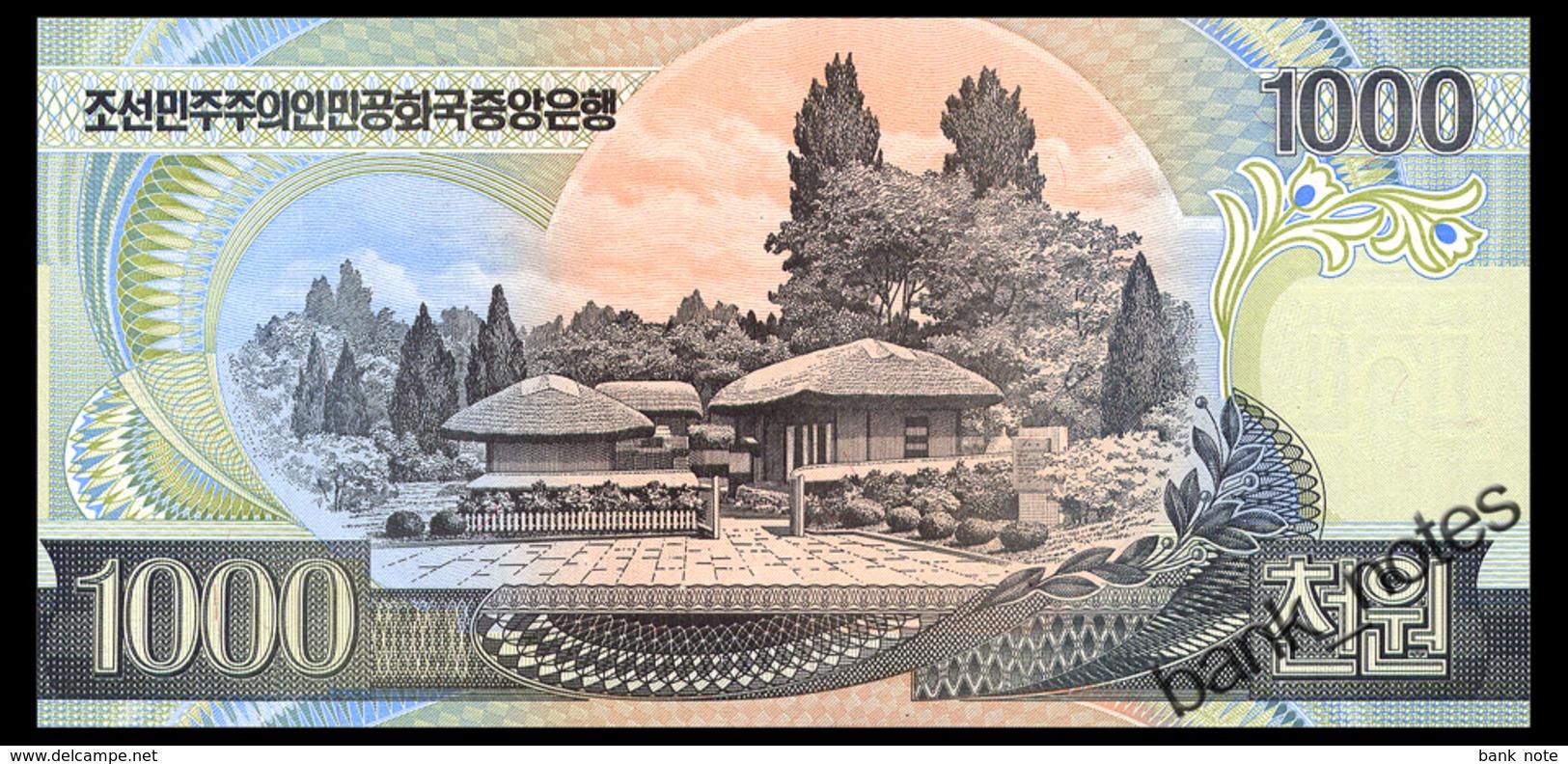 NORTH KOREA 1000 WON 2006 Pick 45b Unc - Korea, North