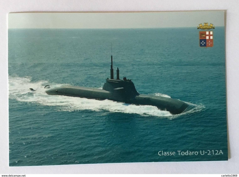 SOTTOMARINO CLASSE TODARO U-212A, FRANCOBOLLO € 0,01 CON ANNULLO FG - Altri