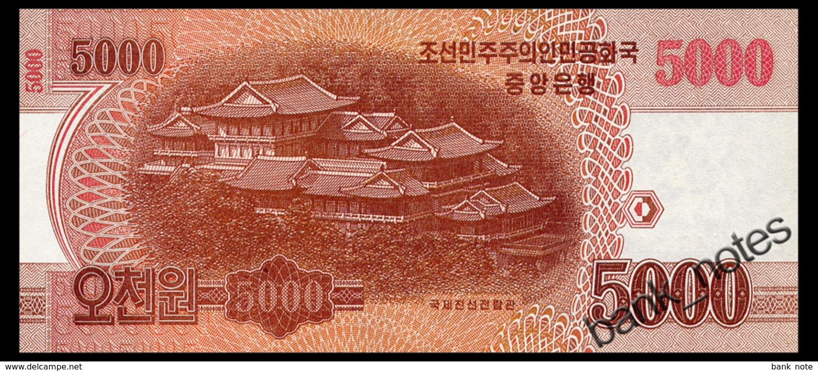 NORTH KOREA 5000 WON 2013 COMMRMORATIVE Pick CS18 Unc - Korea, North