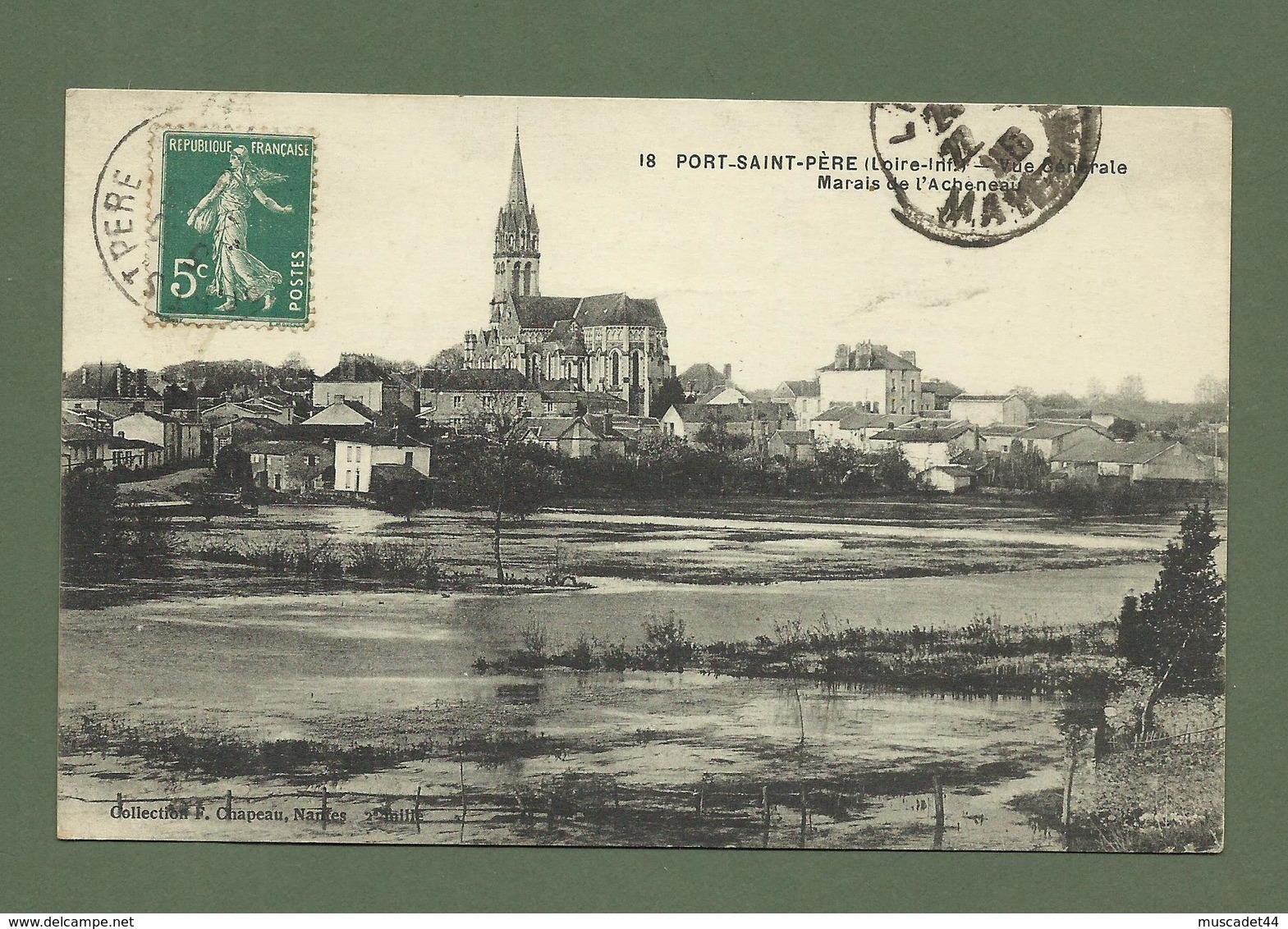 CARTE POSTALE LOIRE ATLANTIQUE  44 PORT SAINT PERE MARAIS DE L ACHENEAU - France