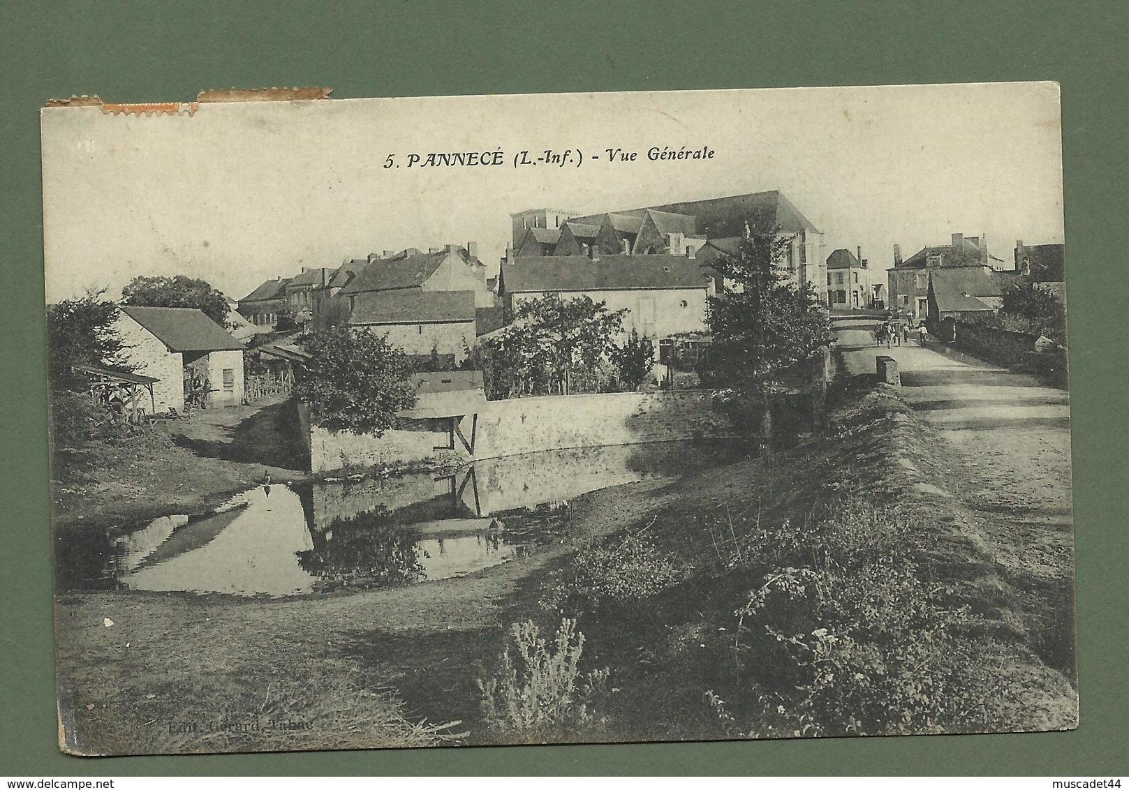 CARTE POSTALE LOIRE ATLANTIQUE  44 PANNECE VUE GENERALE - France