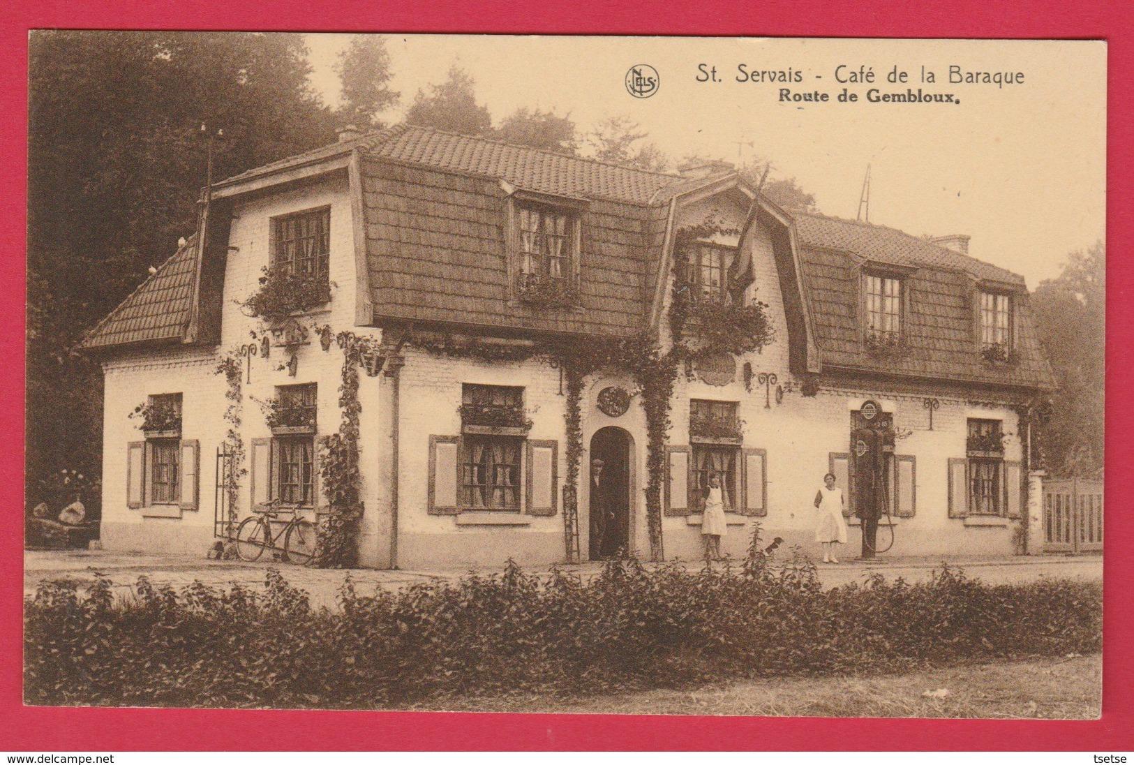 St-Servais ( Namur ) - Café De La Baraque , Route De Gembloux ( Voir Verso ) - Namen