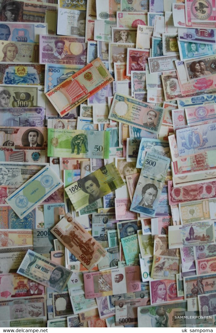 All World 800 Different Banknotes  Out Numerous Countries - Stamps