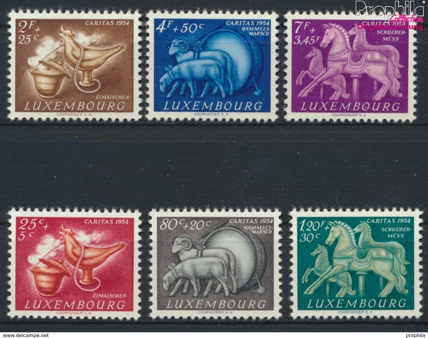 Luxemburg 525-530 (kompl.Ausg.) Postfrisch 1954 Brauchtum (9256350 - Ungebraucht