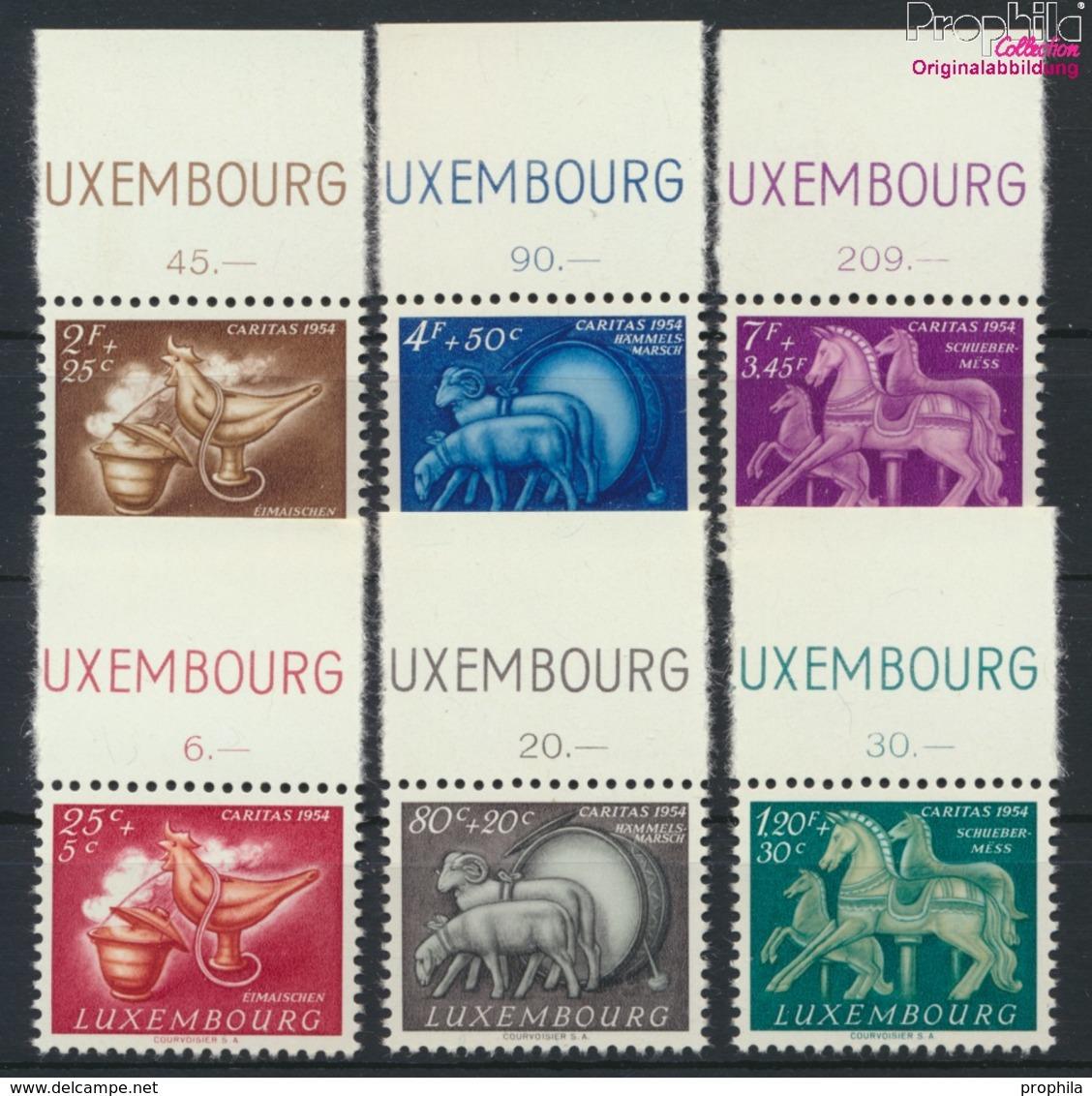 Luxemburg 525-530 (kompl.Ausg.) Postfrisch 1954 Brauchtum (9256360 - Luxemburg