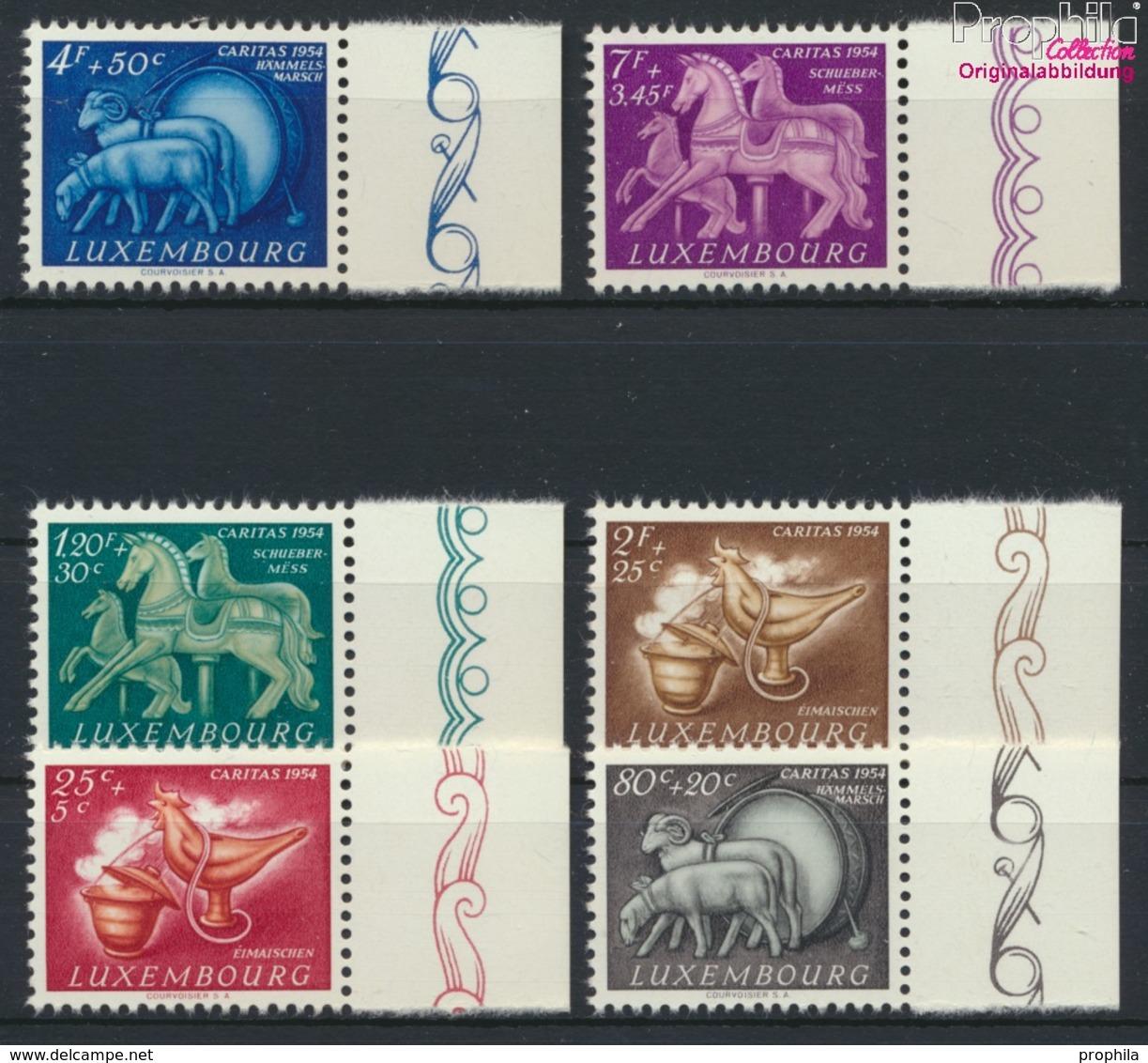Luxemburg 525-530 (kompl.Ausg.) Postfrisch 1954 Brauchtum (9256361 - Ungebraucht