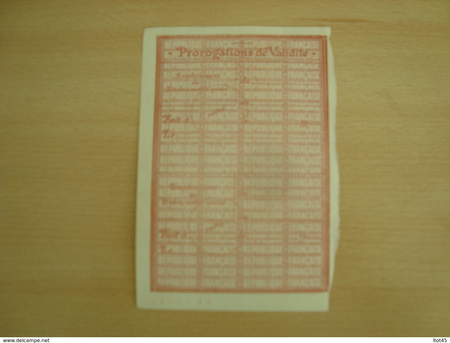 TIMBRE FISCAL DE 2000 FRANCS 1954 - Fiscales