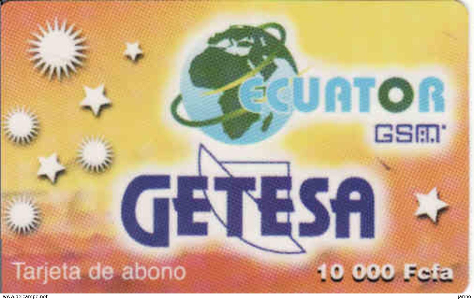 Equatorial Gunea Getesa 10 000 Fcfa - Equatorial Guinea