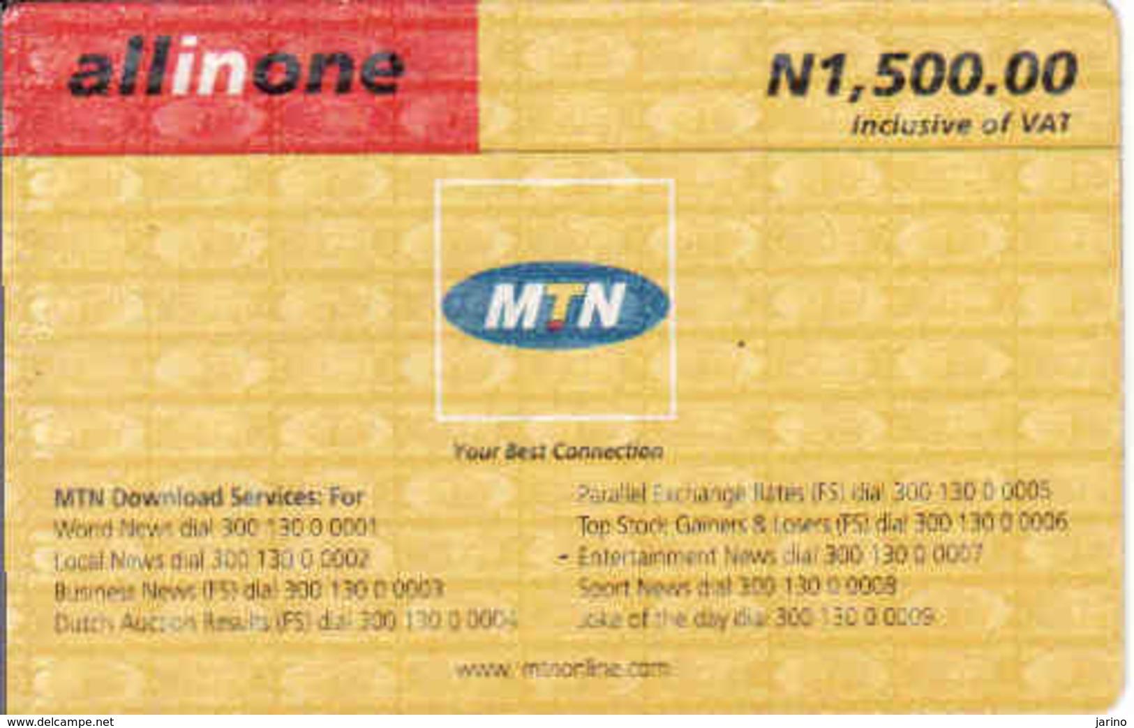 Nigerie, MTN All In One - Nigeria