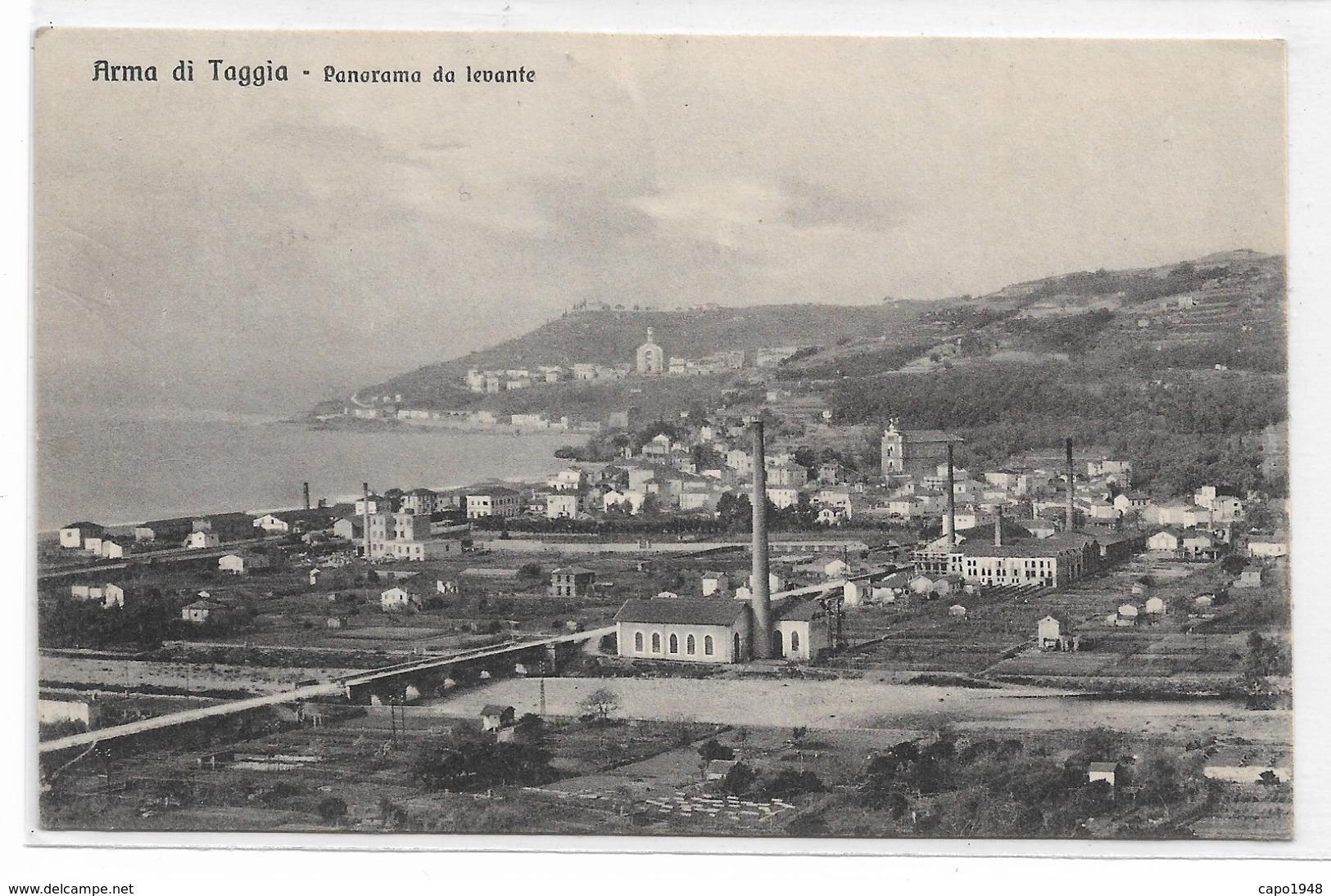 CARD ARMA DI TAGGIA PANORAMA DA LEVANTE (IMPERIA)-FP-V-2-  0882- 28995 - Imperia