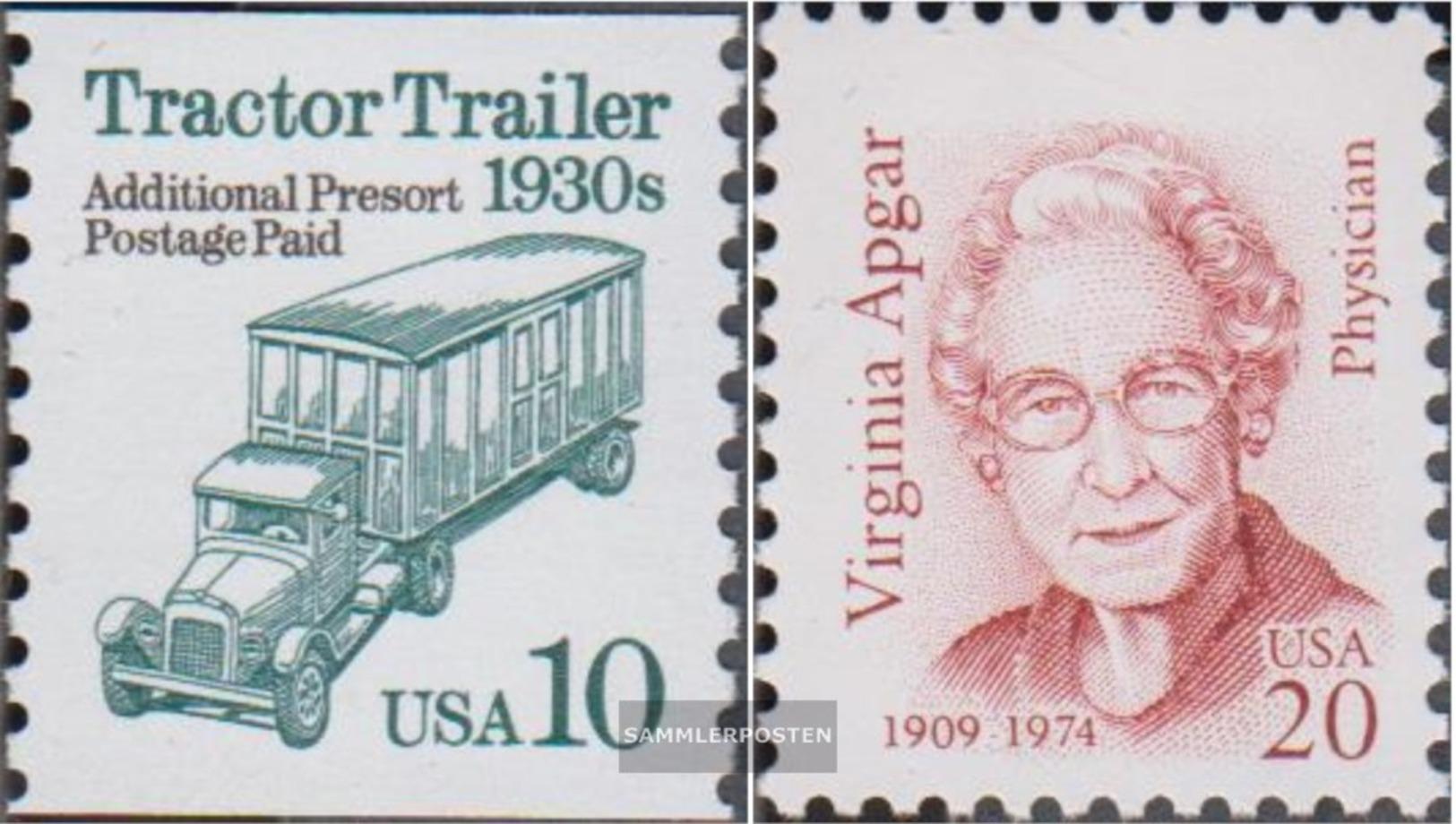 USA 2456,2530 (completa Edizione) MNH 1994 Veicoli, Apgar - Unused Stamps