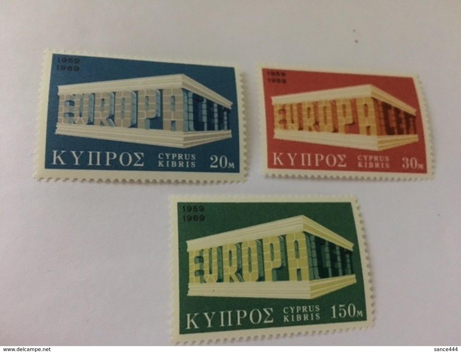 Cyprus Europa 1969 Mnh #ab - Cyprus (Republic)
