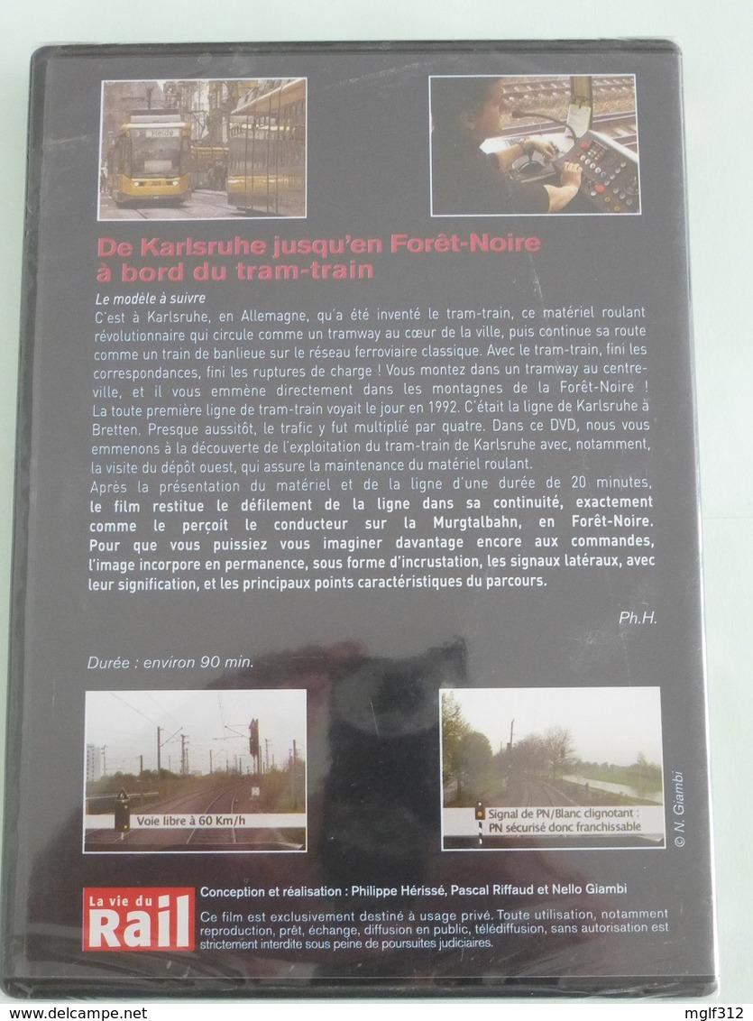 TRAMWAY : ALLEMAGNE TRAM-TRAIN De KARLSRUHE Jusqu'en Forêt-Noire - DVD La Vie Du Rail - DVD
