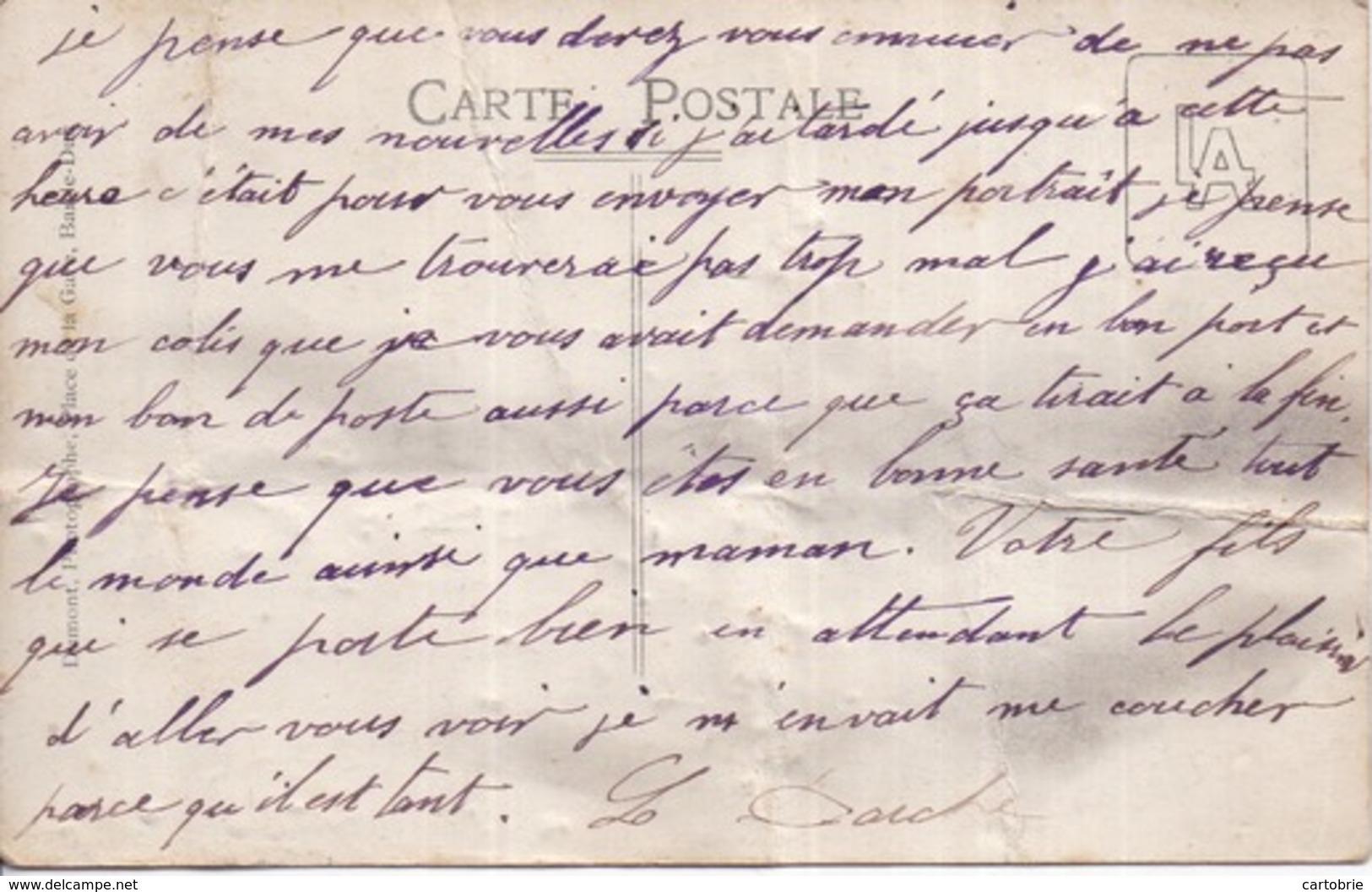 55 BAR-LE-DUC - Carte-photo Par DUMONT Place De La Gare - Militaires 326è - 94 Sur Cols - Voir 2 Scans - En L'état - Bar Le Duc