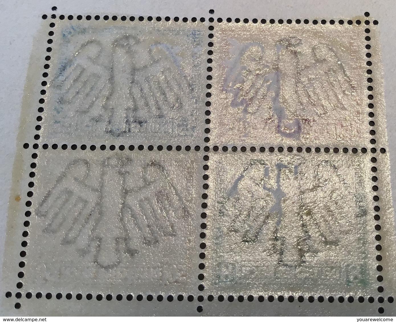 Deutsches Reich 1930 IPOSTA  Briefmarken Ausstellung Block 1** (bloc Souvenir Sheet Architecture Philatelic Exhibition - Blocks & Kleinbögen
