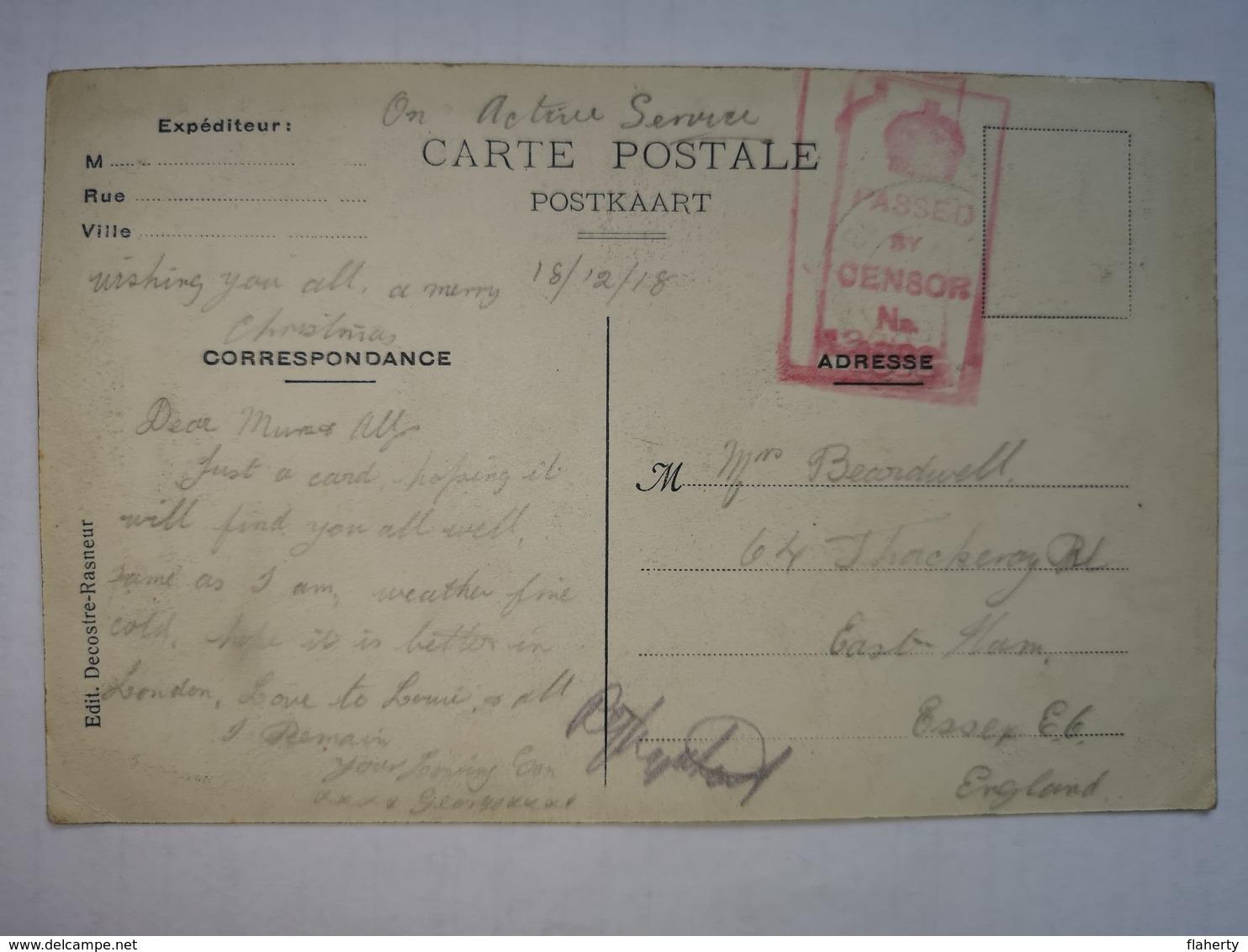 Ath Ligne - Maison De M. Léon Barbet - Édit. Decostre-Rasneur - Ath