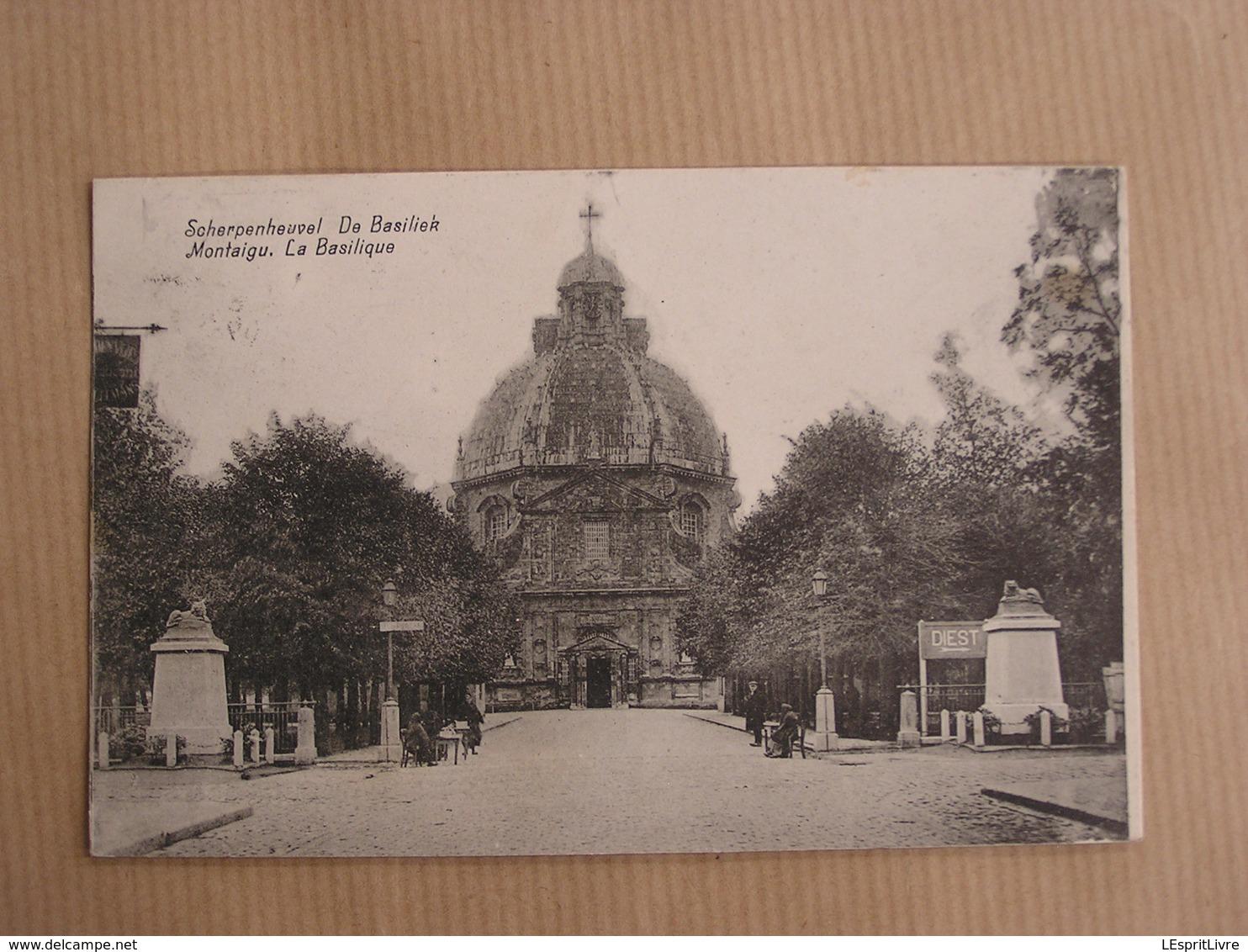 MONTAIGU La Basilique Animée Brabant Flamand Belgique - België
