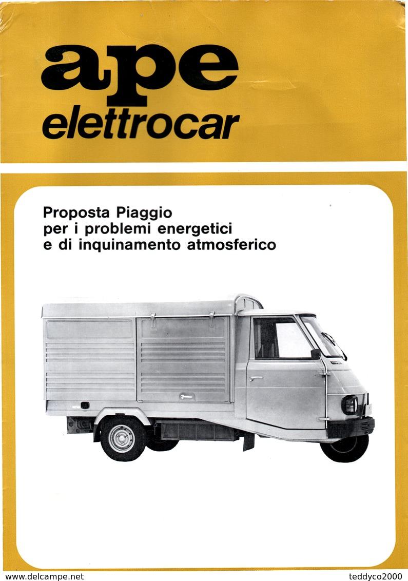 APE PIAGGIO ELETTROCAR - Tools
