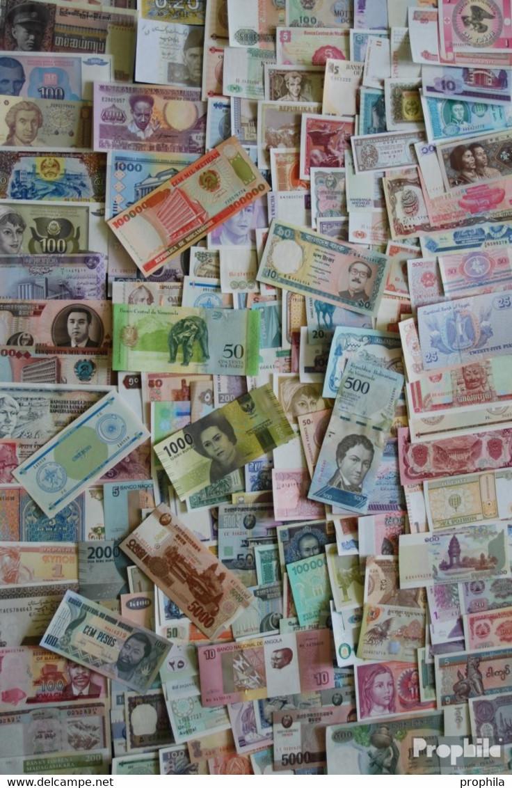 Alle Welt 1.000 Verschiedene Banknoten  Aus Zahlreichen Ländern - Briefmarken
