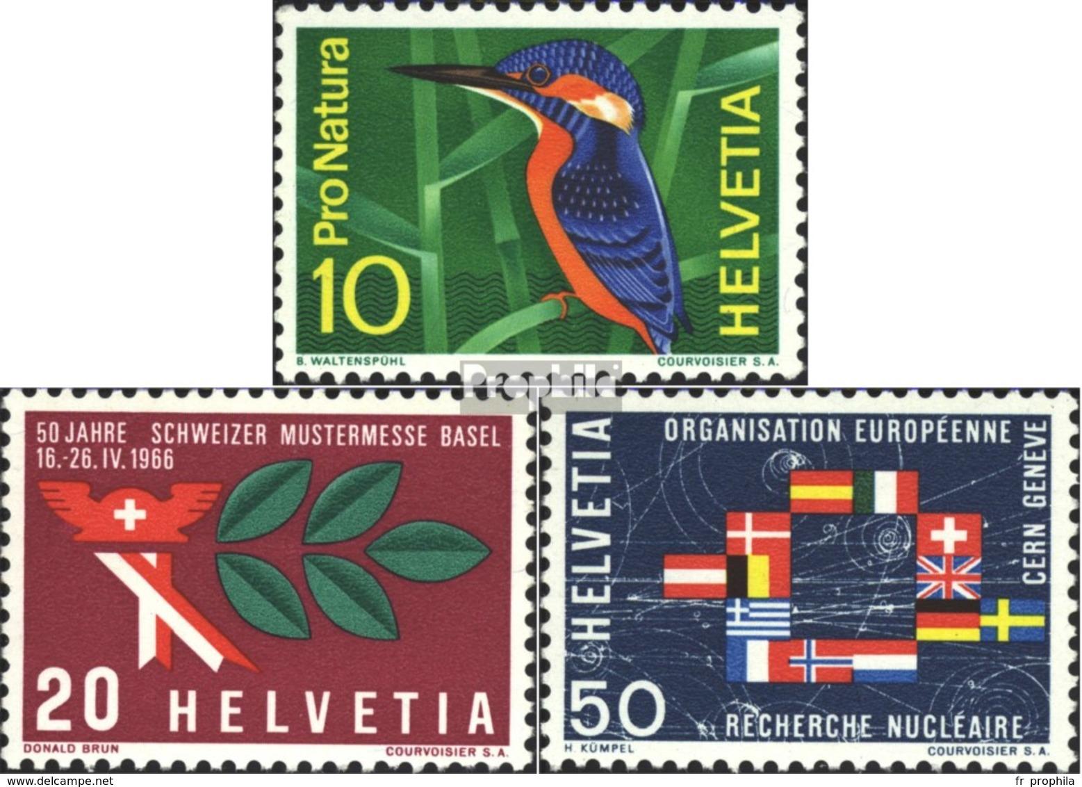 Suisse 833-835 (complète.édition) Neuf Avec Gomme Originale 1966 Années Événements - Svizzera