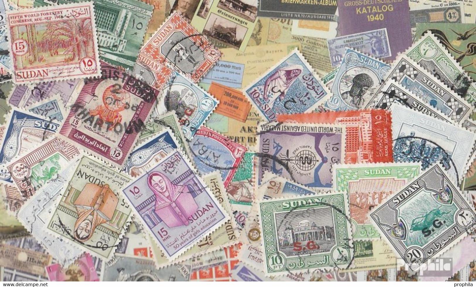Sudan Briefmarken-300 Verschiedene Marken - Sudan (1954-...)