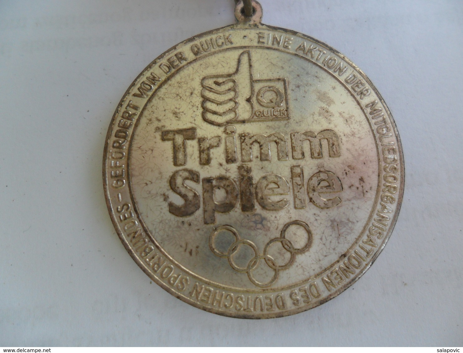 MEDAL SPORT TRIMM SPIELE QUICK    KUT - Sports