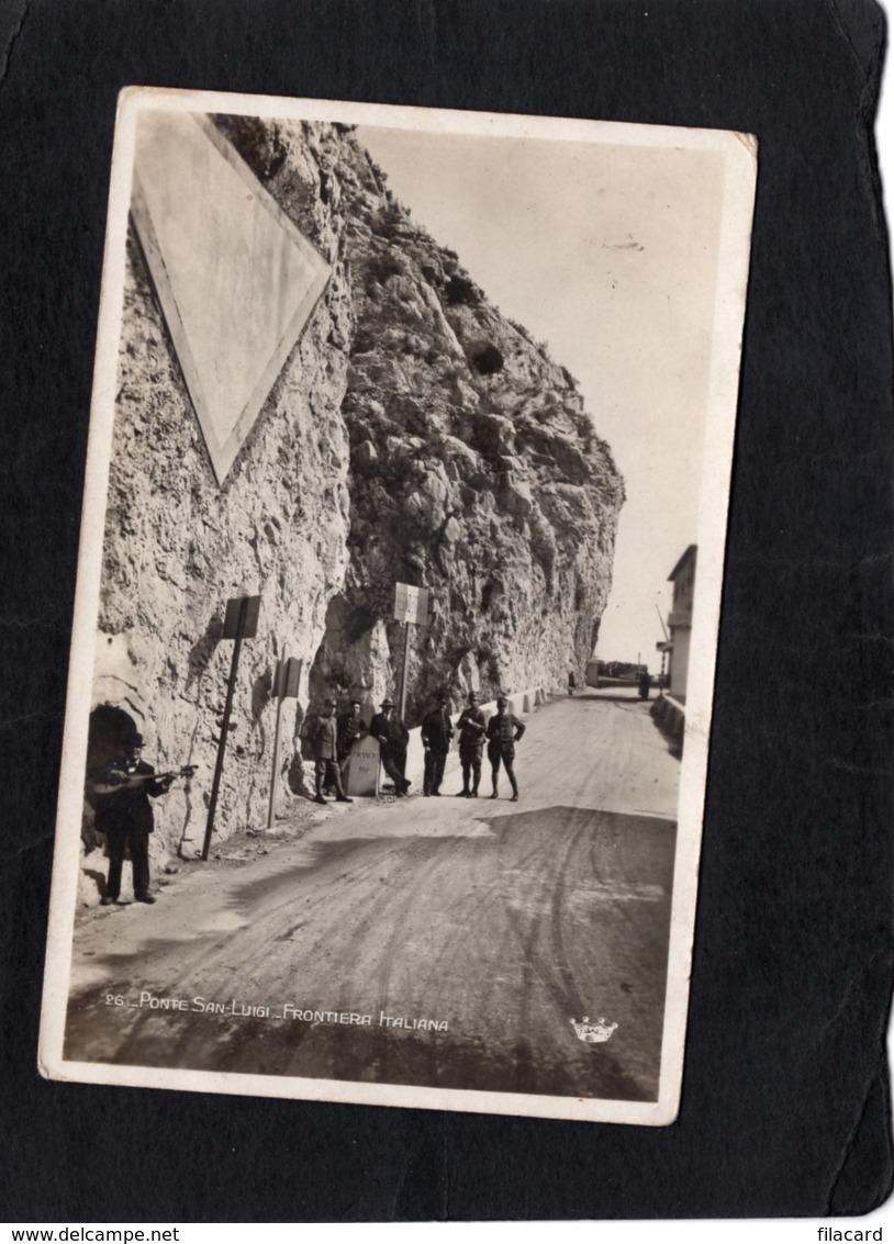 86620    Italia,   Ponte  San-Luigi,  Frontiera   Italiana,  NV - Imperia