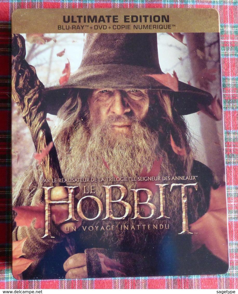 LE HOBBIT -- UN VOYAGE INATTENDU : Blu Ray + DVD ULTIMATE EDITION Steelbook  - Non Réembalé (1) - Sciencefiction En Fantasy