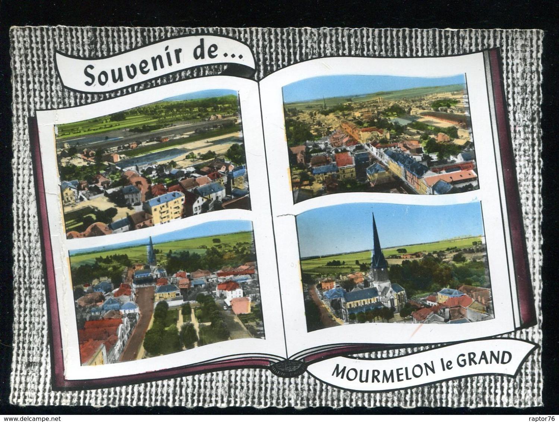 CPM 51 Souvenir De MOURMELON LE GRAND Multi Vues - Mourmelon Le Grand