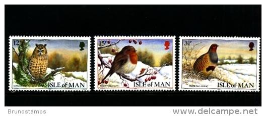 ISLE OF MAN - 1988  CHRISTMAS  SET  MINT NH - Isola Di Man