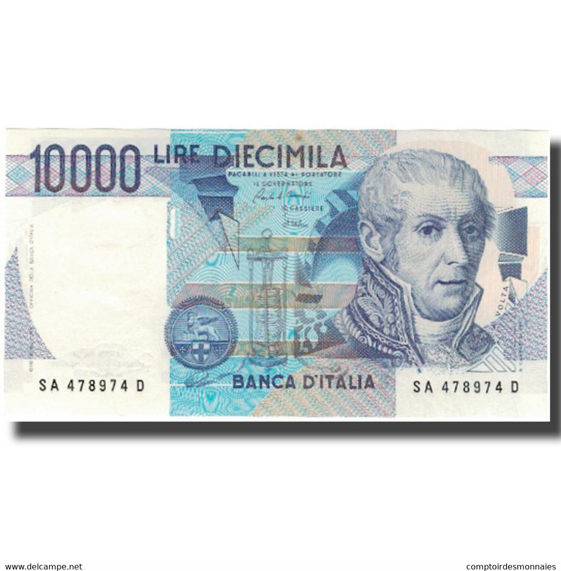 Billet, Italie, 10,000 Lire, 1984, KM:112a, NEUF - [ 2] 1946-… : République