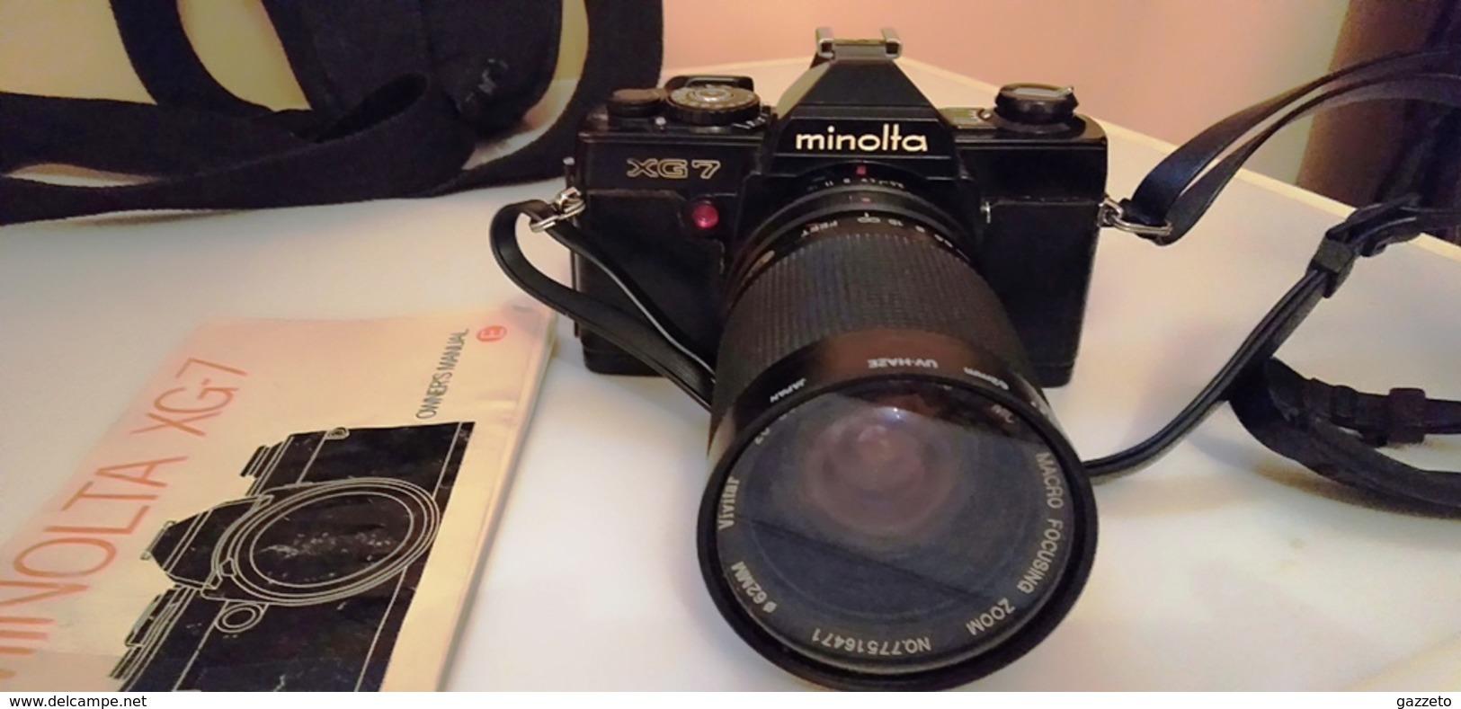 APPAREIL PHOTO ANCIEN MINOLTA X G-7 - Appareils Photo