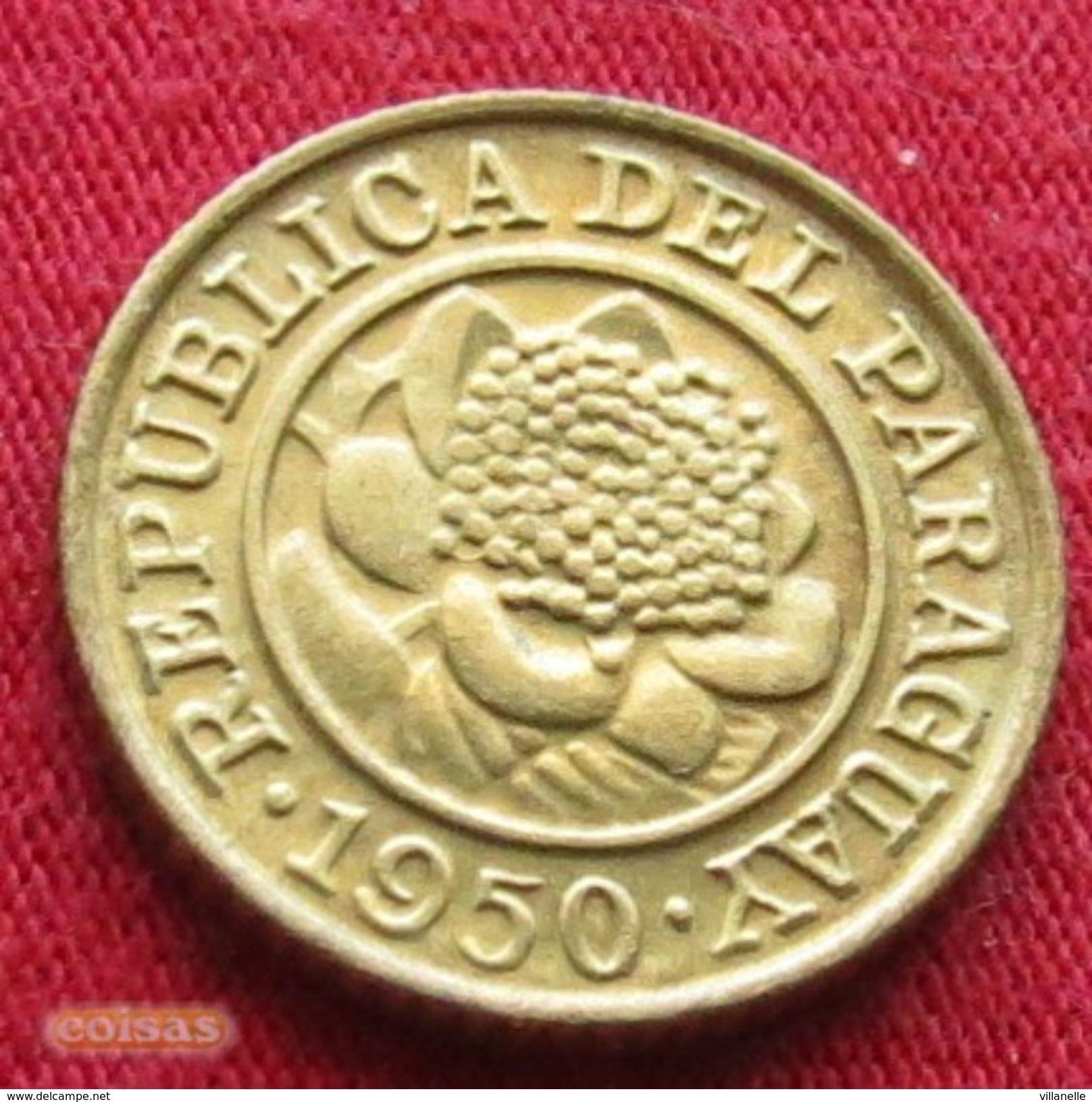 Paraguay 1 Centavos 1950  Paraguai UNCºº - Paraguay